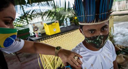 MPF quer vacina para todos os indígenas