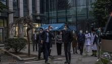 OMS visita mercado onde surgiram primeiros casos de covidem Wuhan