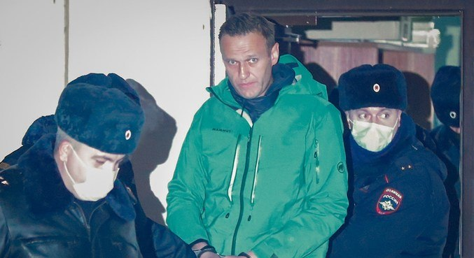 Opositor russo Alexei Navalny pode ficar preso por até 30 dias