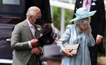 Ascot (United Kingdom), 15/06/2021.- Britain's Prince Charles and Camilla, Duchess of Cornwall, attend day one of Royal Ascot in Ascot, Britain, 15 June 2021. Royal Ascot is Britain's most valuable horse race meeting and social event running daily from 15 to 19 June 2019. (Reino Unido) EFE/EPA/NEIL HALL