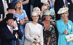 Ascot (United Kingdom), 15/06/2021.- Zara Tindall, grand-daughter (C) watches the racing sash attends day one of Royal Ascot in Ascot, Britain, 15 June 2021. Royal Ascot is Britain's most valuable horse race meeting and social event running daily from 15 to 19 June 2021. (Reino Unido) EFE/EPA/NEIL HALL