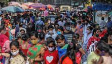 Índia detecta 'dupla variante mutante' do coronavírus