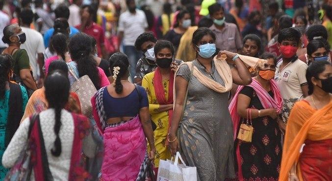 A Índia, que registrou a variante Delta pela primeira vez, contabiliza 278 mil casos