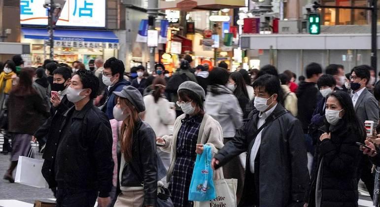 Tóquio registrou 949 novos casos de covid-19 em 24 horas