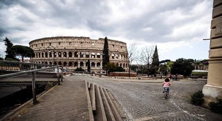 Itália foi um dos países que mais sofreu com a covid-19 na Europa