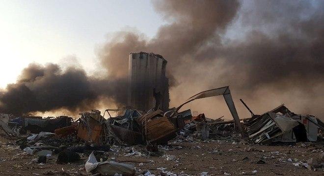 Milhares de pessoas ficaram feridas na explosão em Beirute