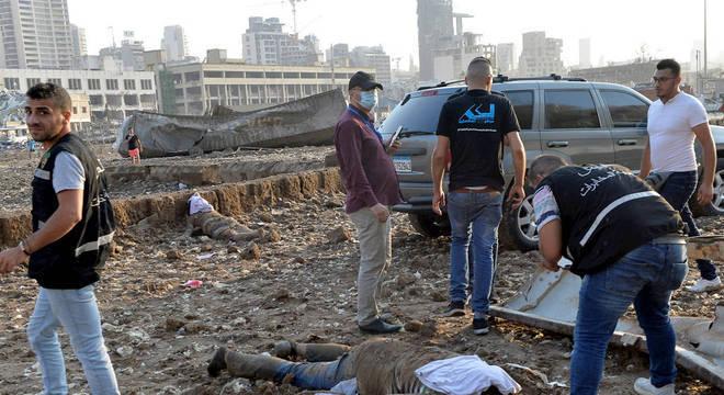 Explosão deixou mais de 100 mortos em Beirute
