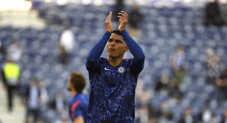 Thiago Silva fez grande temporada com a camisa do Chelsea