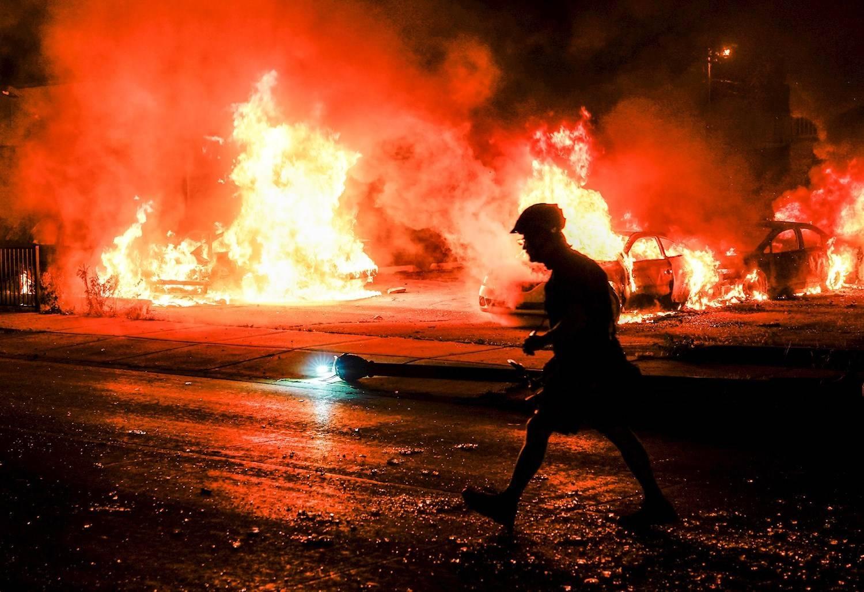 A violência dos protestos pelo atentado contra Jacob Blake