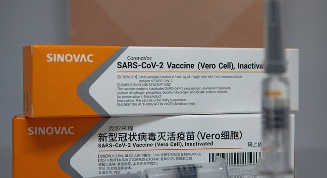 A vacina CoronaVac será produzida no Brasil pelo Instituto Butantan