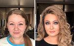 Andreev conta que começou a fazer maquiagem quando era criança e, aos 16 anos, já estava se profissionalizando.
