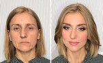 O maquiador russoVadim Andreev criou uma técnica que chamou de