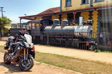 Estação de Guajará-Mirim que virou museu da EFMM