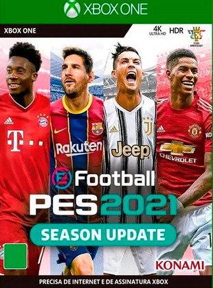 eFootball PES 2021, lançado em 2020