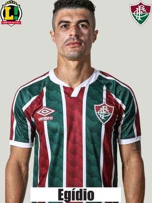 Egídio - 6,0 - Criou a primeira oportunidade do Fluminense com um cruzamento, fez desarmes e auxiliou o setor ofensivo. No entanto, perdeu o tempo de algumas jogadas e falhou em lances defensivos.