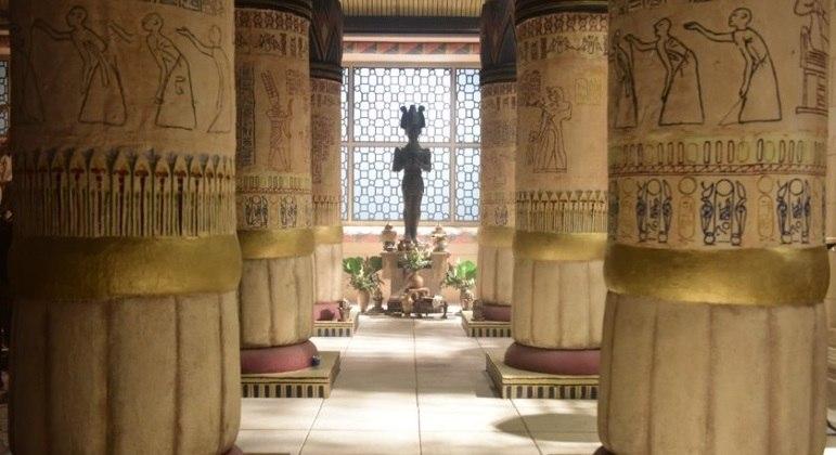 Gênesis também vai mostrar como era a vida no Egito durante a Antiguidade