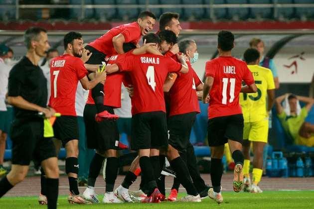 Egito: 4 pontos (1 V/1 E/1 D) - Gols pró: 2 / Gols sofridos: 1 (melhor defesa) / Saldo de gols: 1 - Enfrenta o Brasil nas quartas de final em 31/07, às 07h de Brasília - Pode enfrentar Coreia do Sul ou México na semifinal, em 03/08, às 05h.