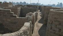 Egito descobre cidade perdida de mais de 3 mil anos de idade