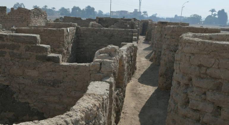 Cientistas localizaram a cidade em setembro e encontraram paredes quase intactas