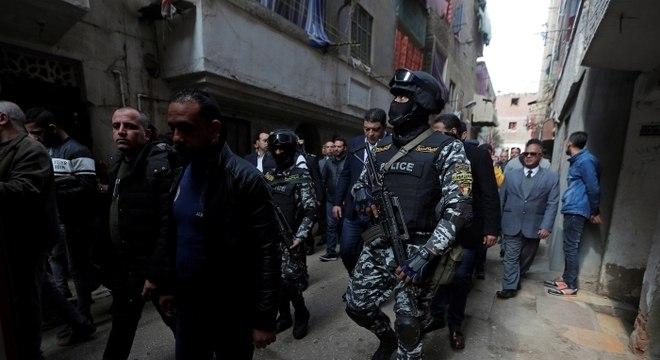 Presidente egípcio prometeu lutar contra terrorismo e o extremismo na região