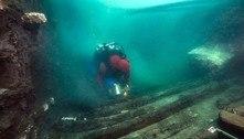 Vestígios de cidade antiga submersa são descobertos no Egito