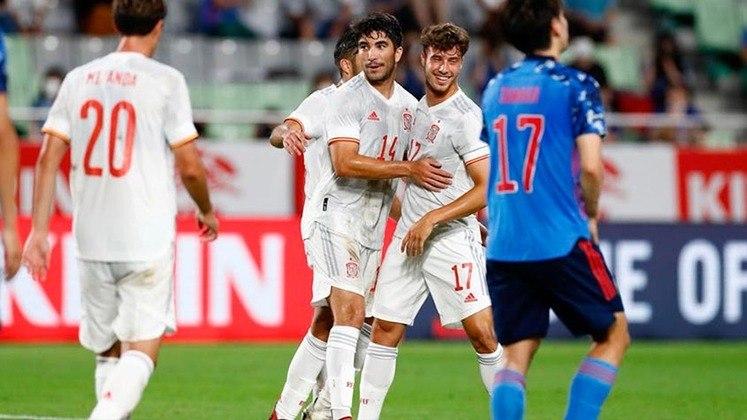 Egito x Espanha abrem o calendário do futebol masculino às 4h30 desta quinta-feira.