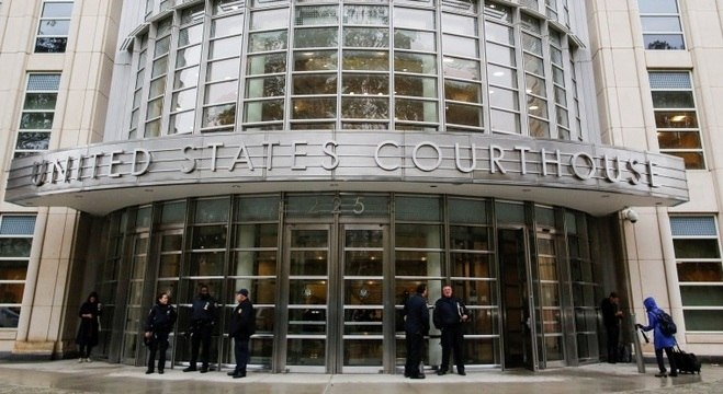 Corte federal do Brooklyn, onde acontece o julgamento de El Chapo nos EUA