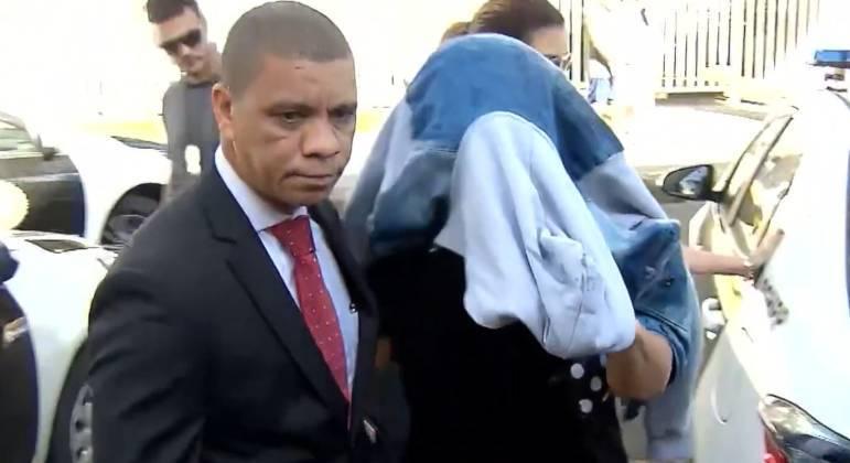 Elaine Lessa no dia de sua prisão: pedido de trancamento de ação penal foi negado pela Justiça