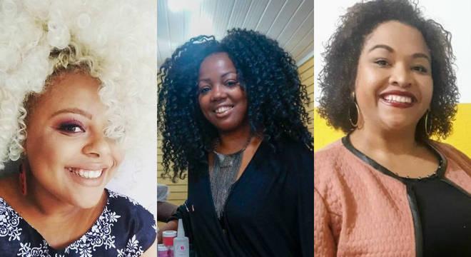 Evelyn Daisy, Gisele Alexandra e Gleice Cecílio contam suas histórias de superação