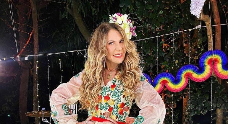 Cantora celebrou a data especial por meio de publicação nas redes sociais