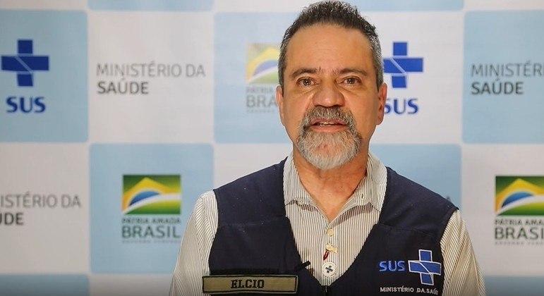 Coronel Élcio Franco, número dois do Ministério da Saúde na gestão Pazuello.