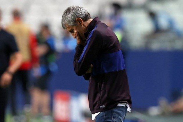 Ele não resistiu aos 8 a 2 que o Barcelona levou do Bayern de Munique. Mas era ele o culpado?