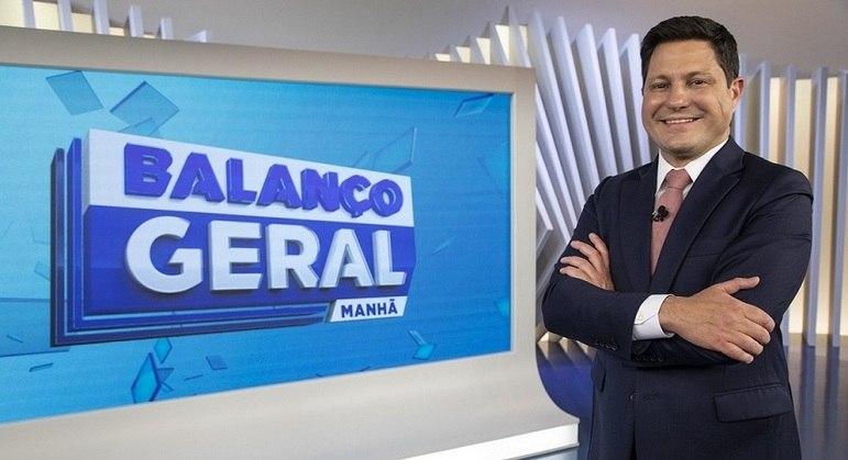 """Eleandro Passaia  assume o  """"Balanço Geral Manhã"""""""