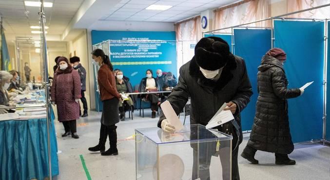 Eleições parlamentares tem alta participação no Cazaquistão