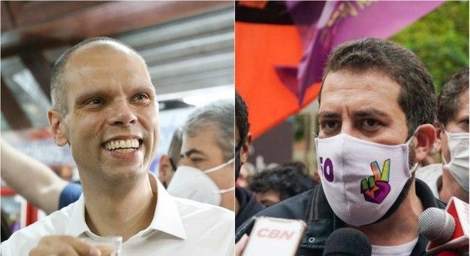 Bruno Covas e Guilherme Boulos disputam a prefeitura de SP no 2º turno