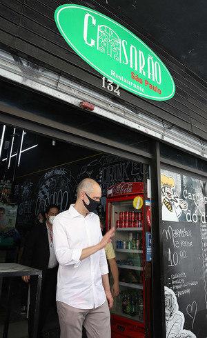 Covas visitou Rede Cozinha Cidadã