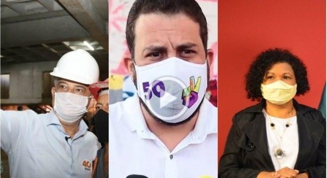 Candidatos à Prefeitura de SP intensificam agenda na reta final da campanha