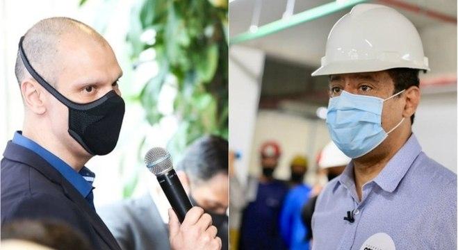 Bruno Covas e Orlando Silva destacaram sobre a geração de empregos em SP
