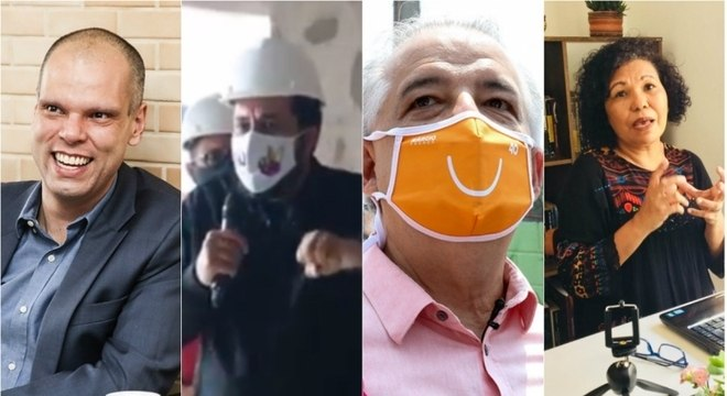 Veja como foi a sexta-feira dos candidatos a prefeito de SP
