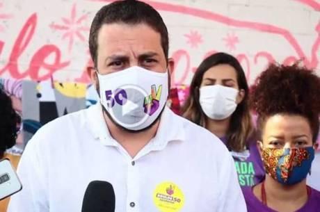 Boulos prometeu ações na área da saúde pública de SP