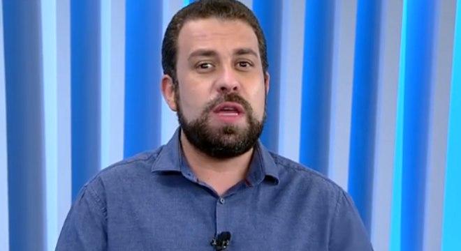 Boulos foi entrevistado pelo programa Balanço Geral nesta terça (10)