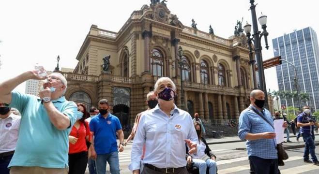 Márcio França destacou a importância cultural do centro da cidade