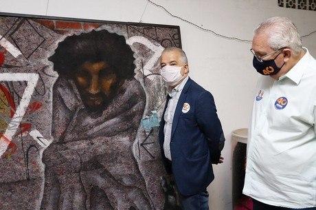 França falou sobre projetos para moradores de rua