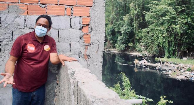 Orlando Silva conversou com moradores da Vila Mara e Jd. Pantanal, na zona leste
