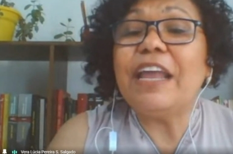 Vera Lúcia (PSTU) fez live sobre volta às aulas