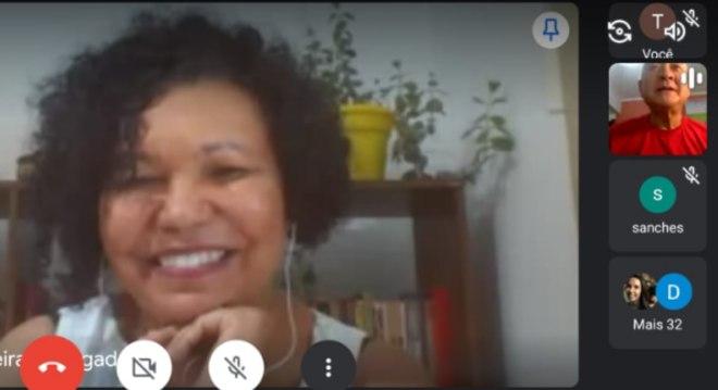 Vera Lúcia (PSTU) teve encontro virtual com servidores públicos