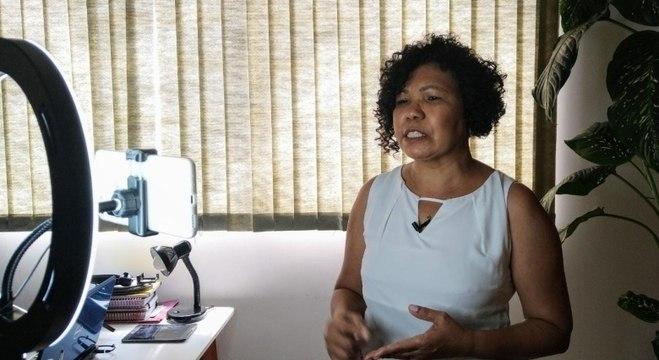 Vera Lúcia destacou os problemas do transporte público em SP