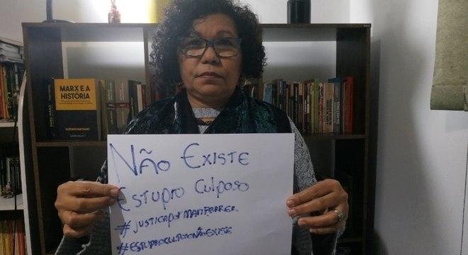 Vera Lúcia (PSTU) cobrou punições para envolvidos no processo de Mariana Ferrer