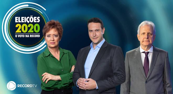 Eduardo Ribeiro, Christina Lemos e Augusto Nunes irão trazer informação, análise e opinião sobre as eleições