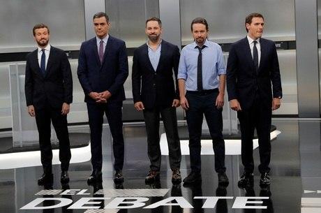 Principais candidatos na nova eleição na Espanha